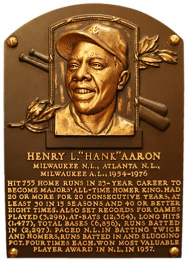 Hank Aaron - Black History Month