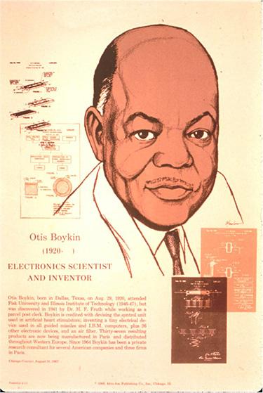 Otis Boykin - Black History Month